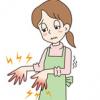 手のあかぎれが治らない原因とは?冬になると指先がぱっくり割れて痛い