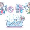 水素風呂がアトピー肌に効果的|水素が抜ける時間はどれぐらい?